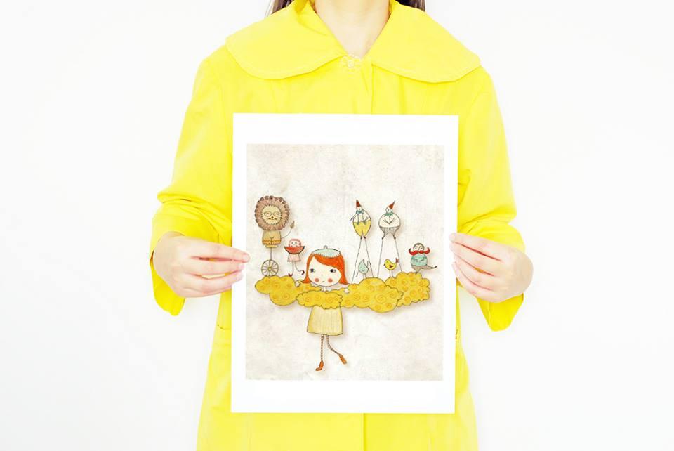 Edith Pojum Illustrations