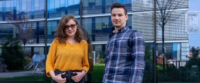 Intern Stories: Patrik and Mihaela on conquering marketing skills